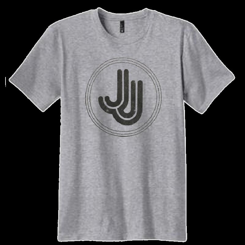 Jillian Jacqueline Heather Grey Logo Tee