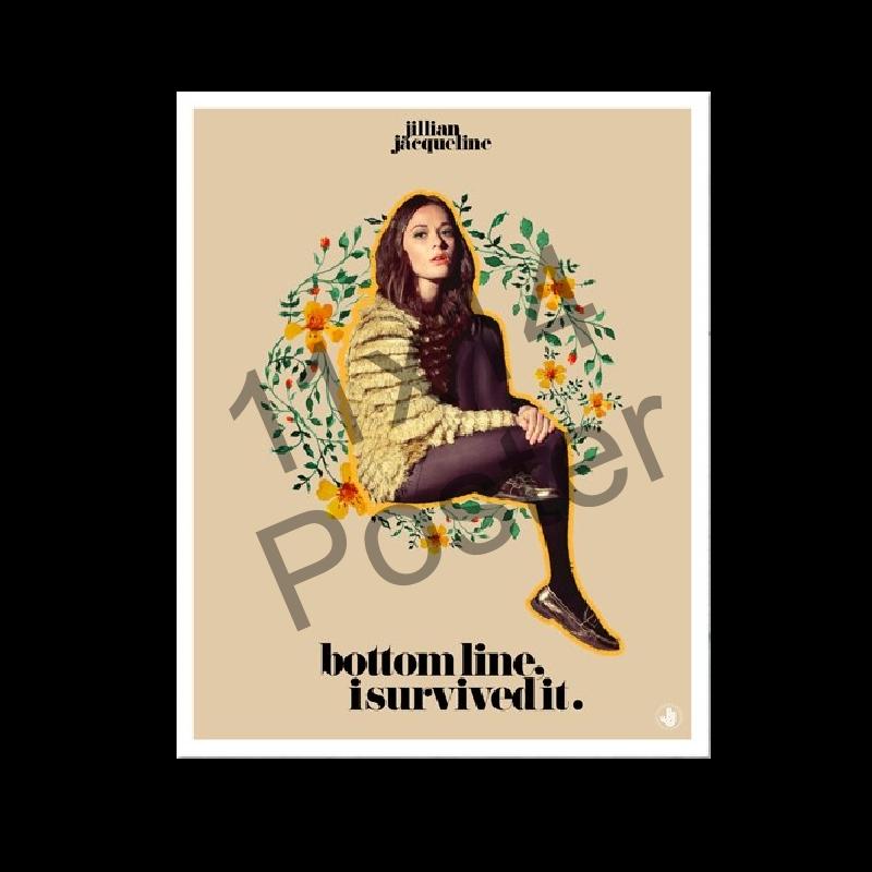 Jillian Jacqueline AUTOGRAPHED Poster