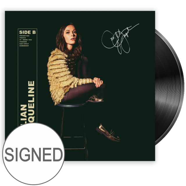 Jillian Jacqueline SIGNED Vinyl- Side B