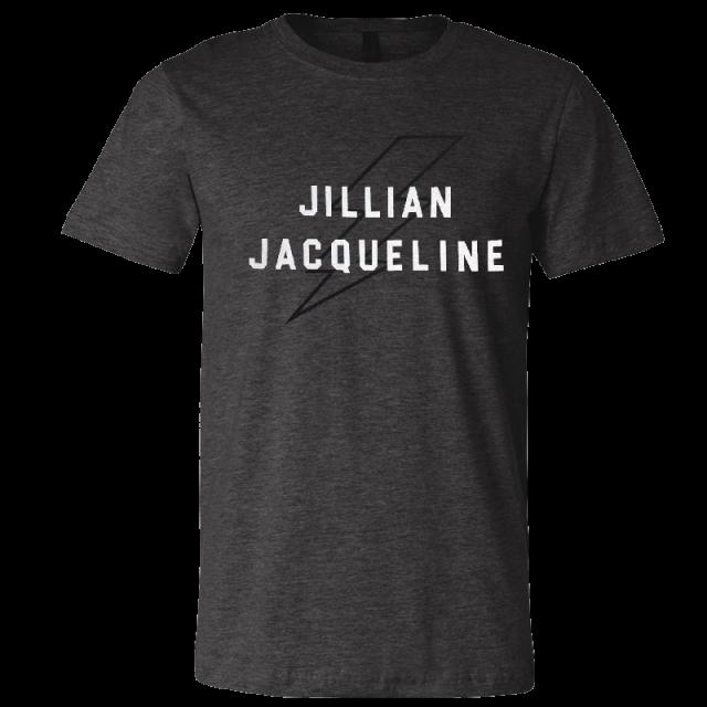 Jillian Jacqueline Dark Heather Tee