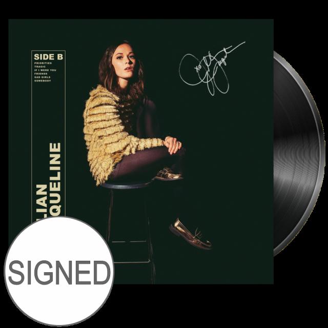Jillian Jacqueline SIGNED Vinyl- Side B